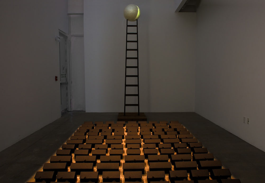 Installation: Ghostown & Ladder to the Moon, 2013