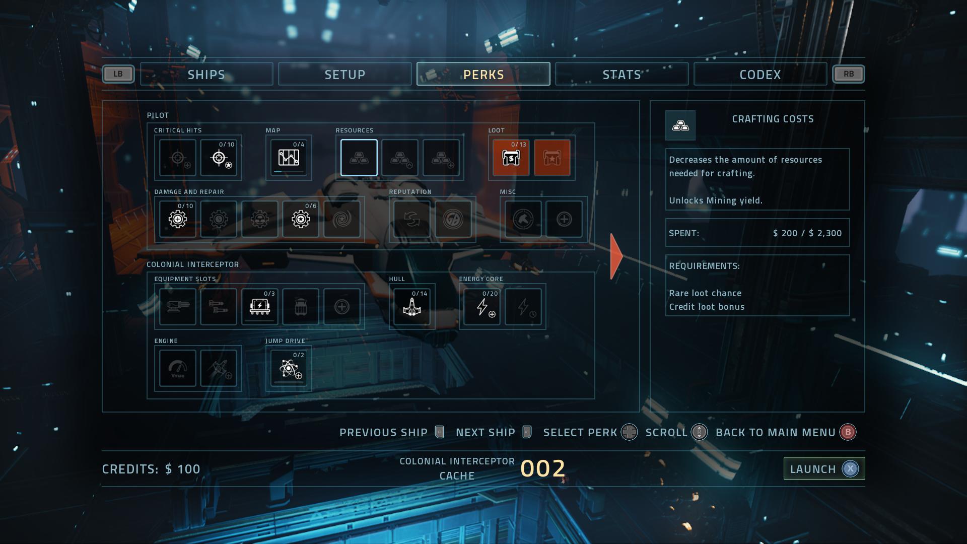 Ship Upgrades