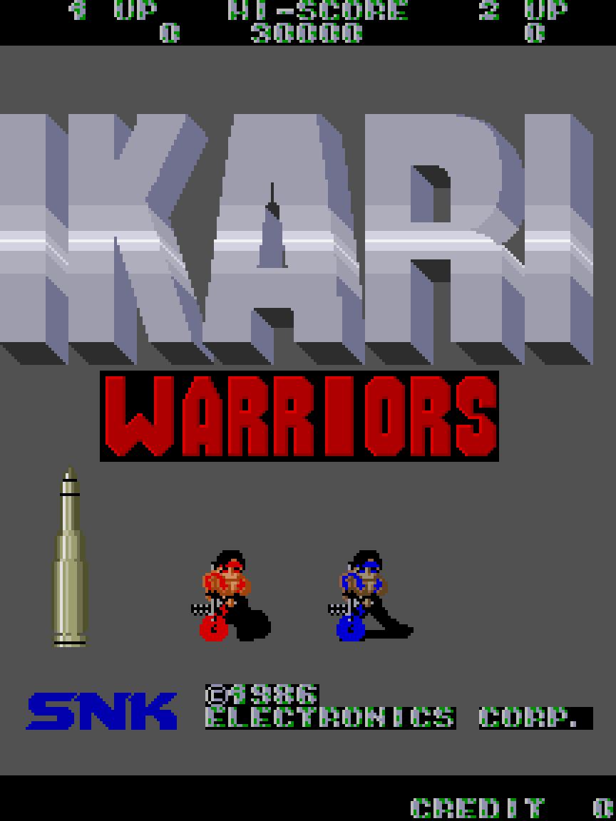 Ikari Warriors (Arcade) 01.png
