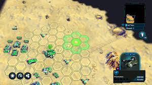 ACTUAL HEXs. IN A CONSOLE WARGAME!