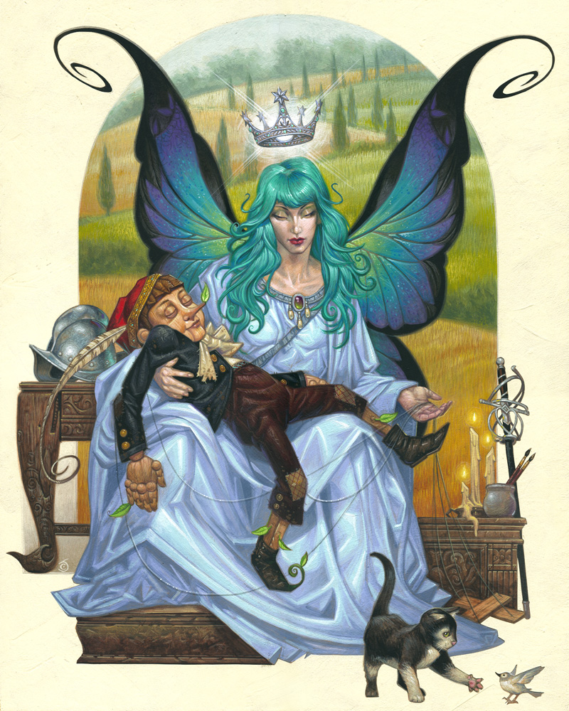 Fairy with the Turquoise Hair