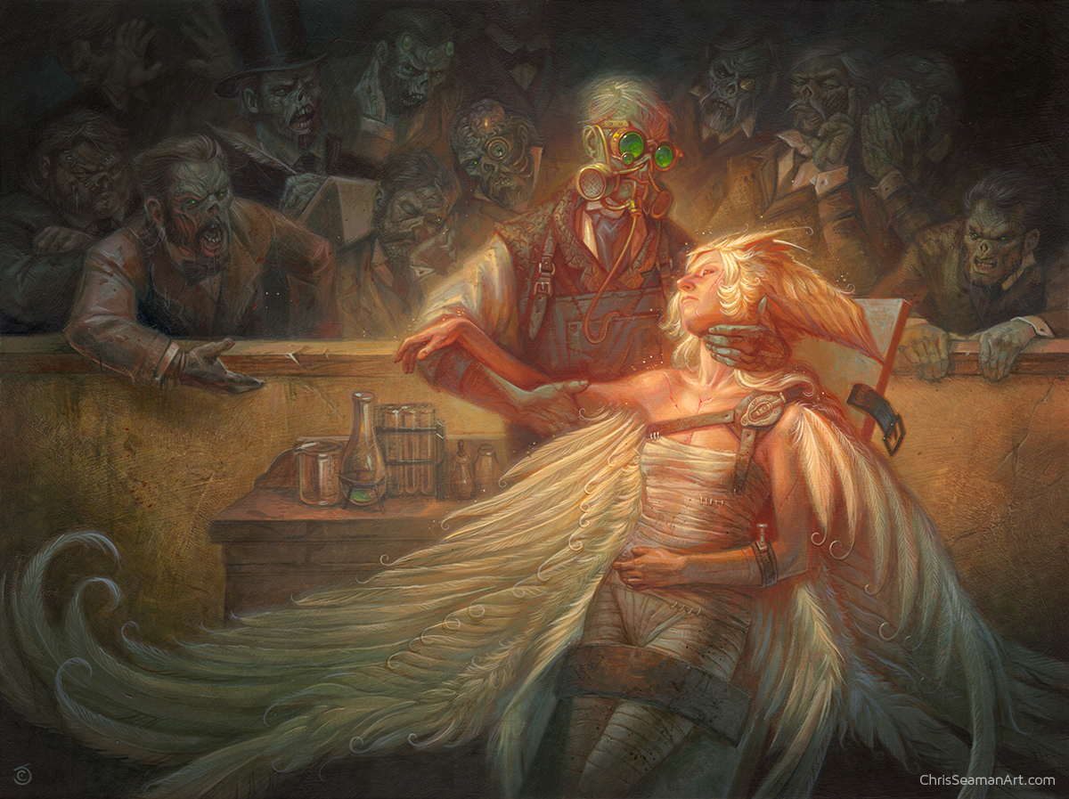 Observing Gross Seraphim