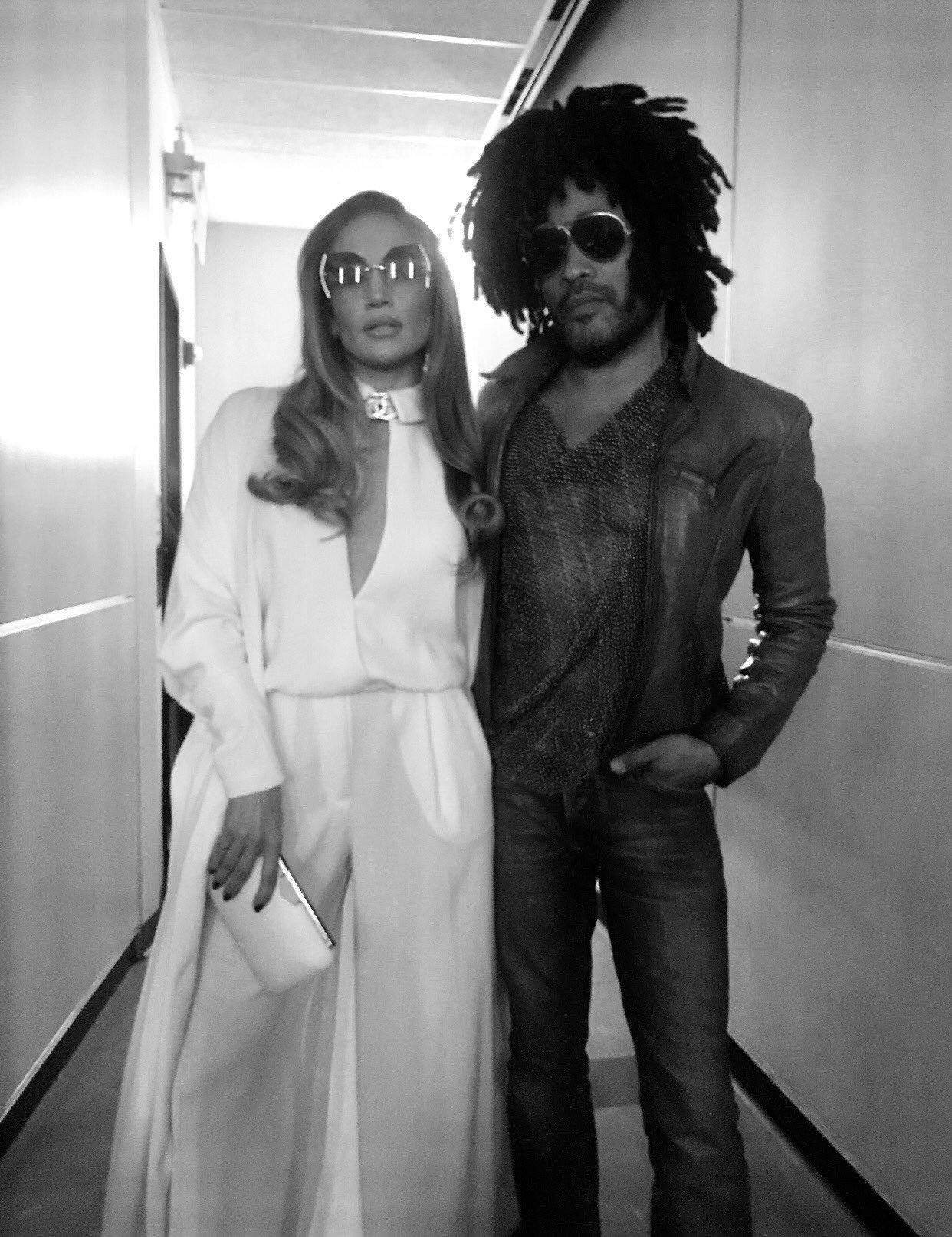 LENNY KRAVITZ & JLO