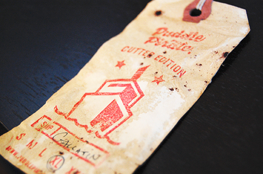 Vintage tags to go with every shirt.