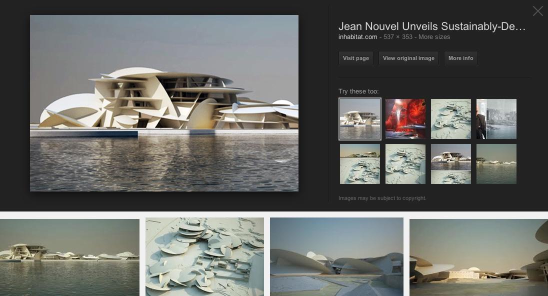 Jean Nouvel Photographs