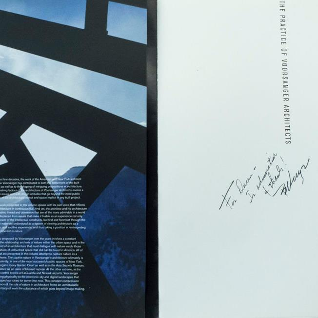 The Practice of Voorsanger Architects: Of Architecture and Captive Landscapes (USA Books), 2004