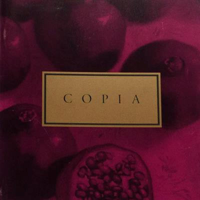 Copia  journal, poetry by W.S. Merwin, Charles Simic and Mary Oliver; essay by Wendell Berry. Other issues contain poetry by poets includingPulitzer Prize-winner Kay Ryan