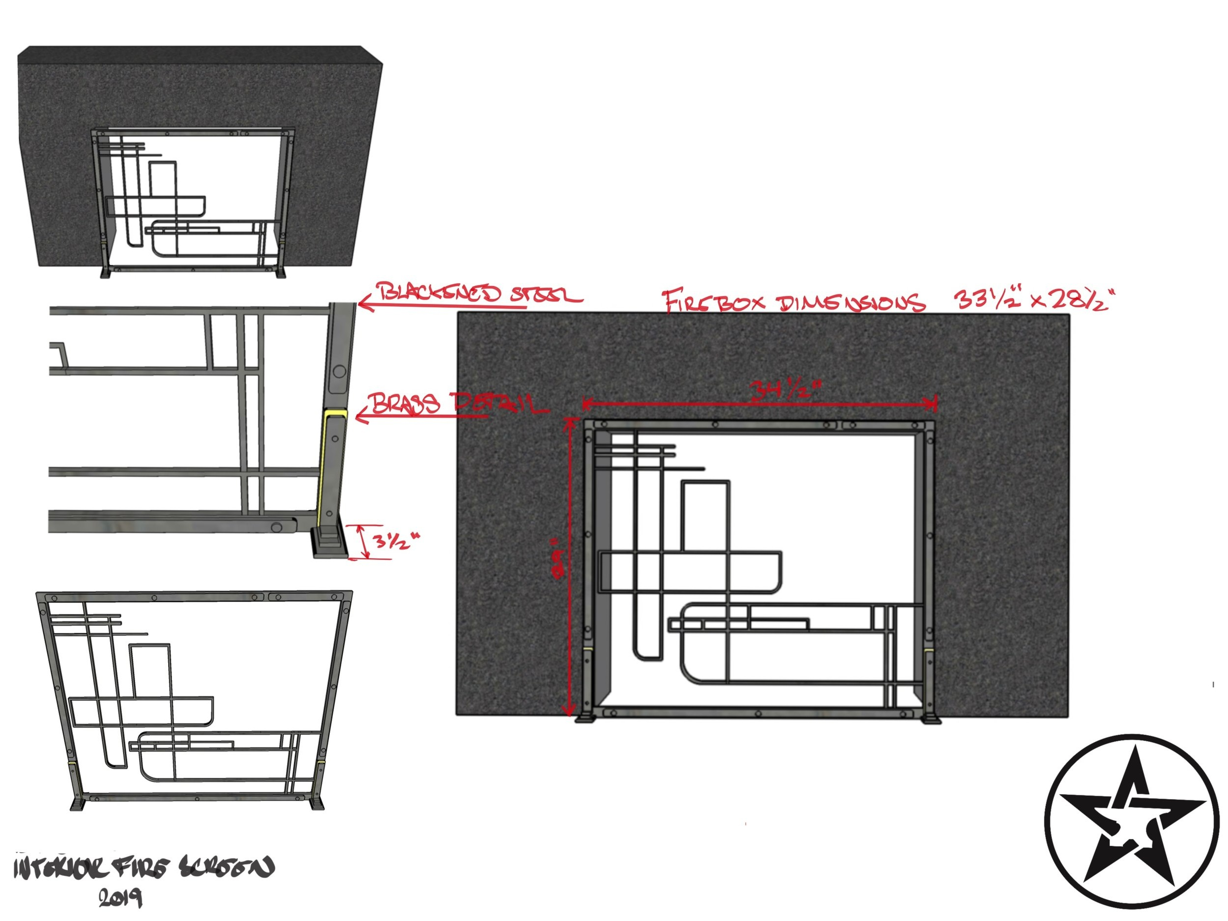Step Three   Proposal  Once we've arrived on a concept we'll furnish a detailed proposal describing the work we'll do and scope of the project. Included in this proposal will be the finishes, materials, timelines, and terms of payment.