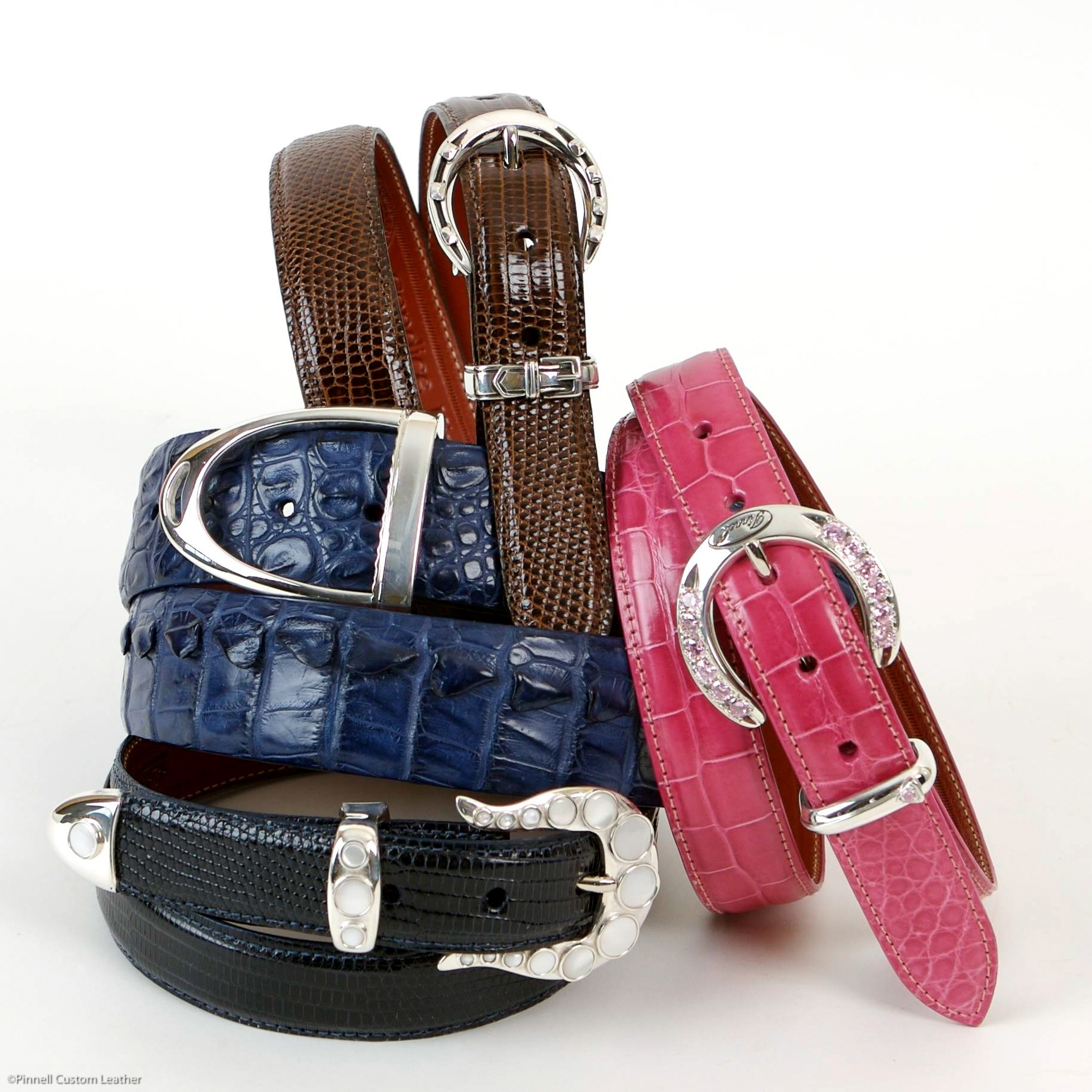 Custom Leather Belts -