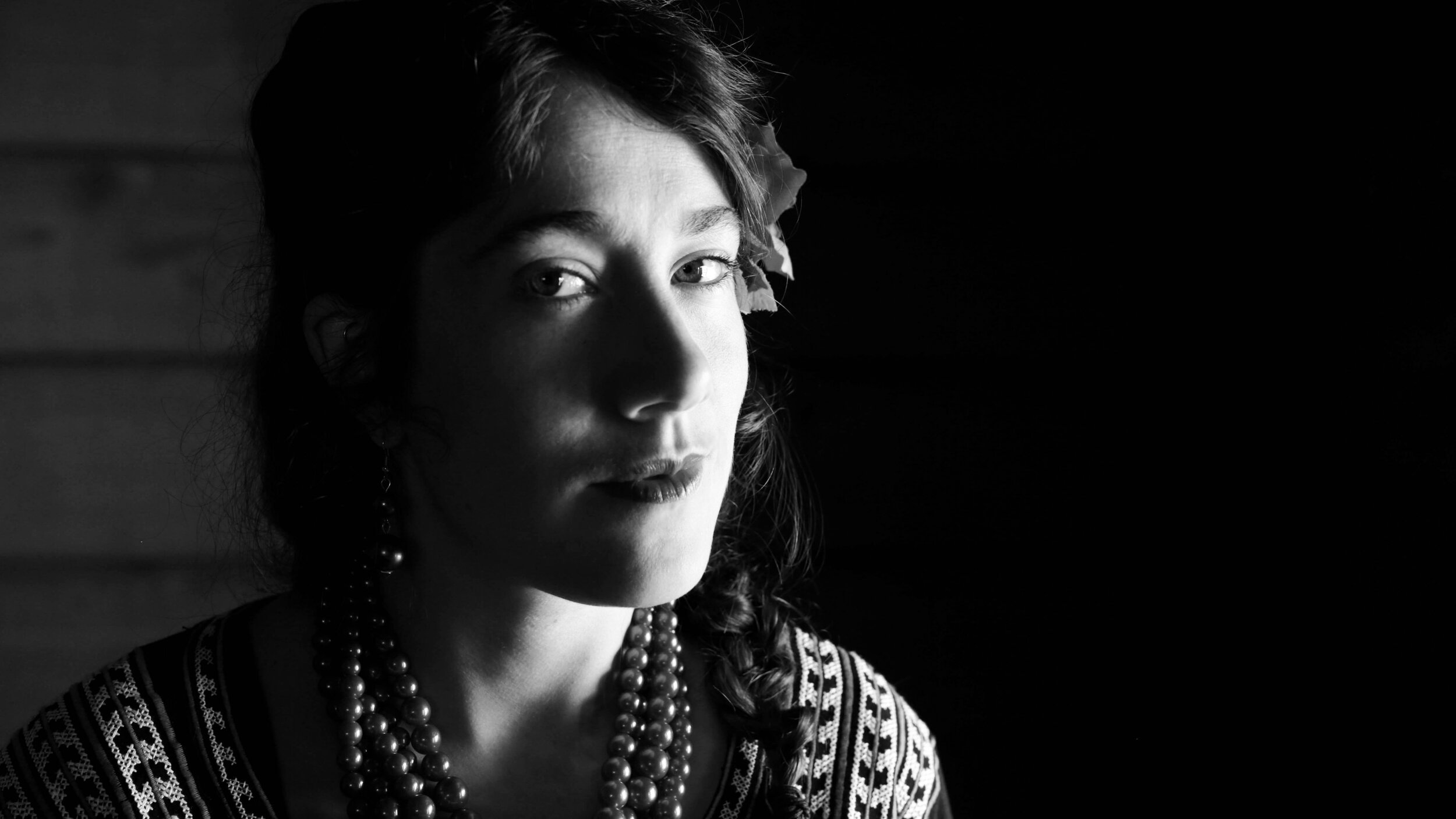 Portrait of Katya Schoenberg.
