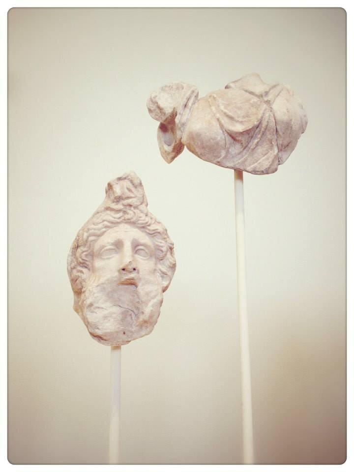 Kristine Barrett + Miniatures + Photography + Art + Art History + Greece + Ancient Greek Art