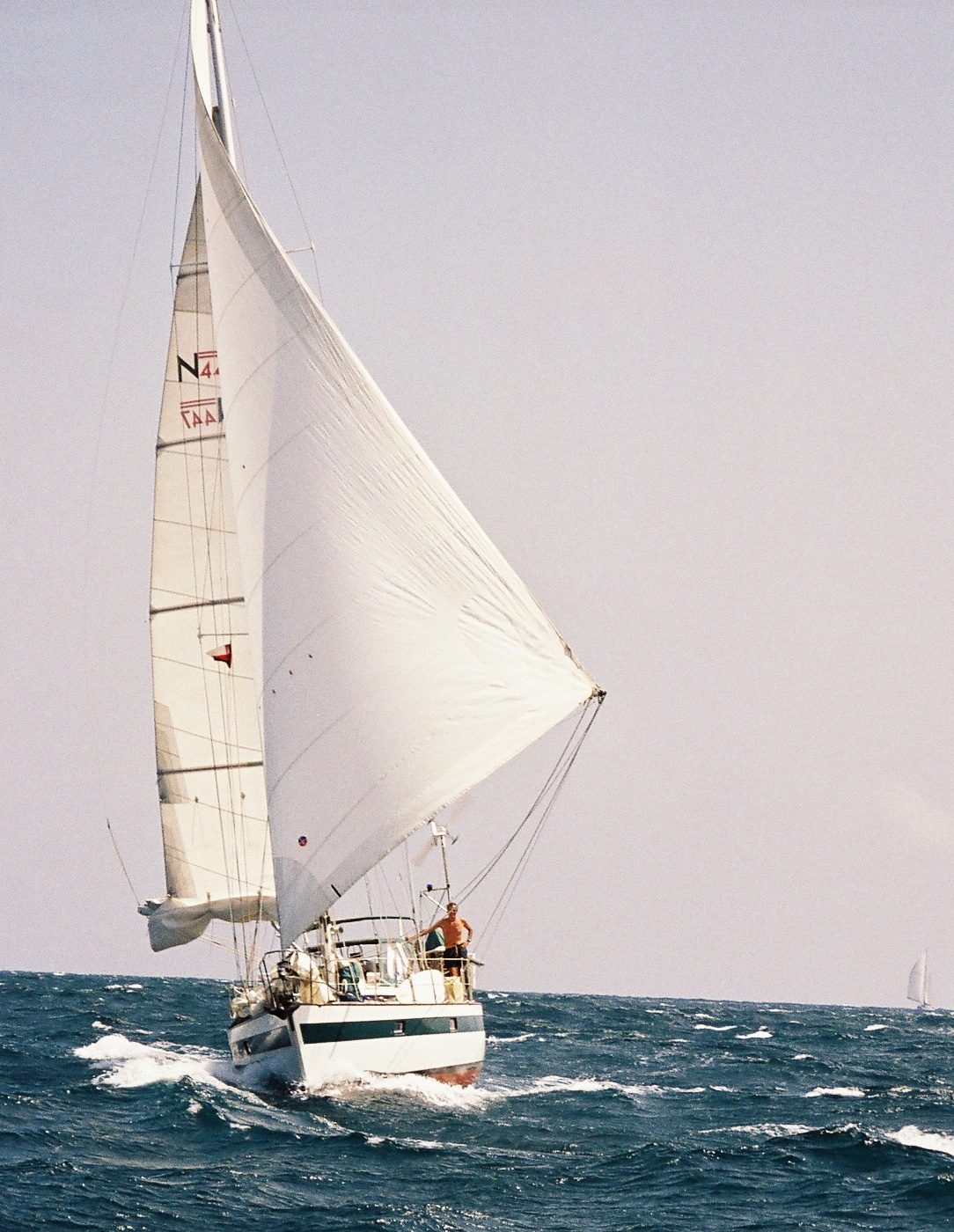 Photo : Andy Rothman              2007 Indian Ocean
