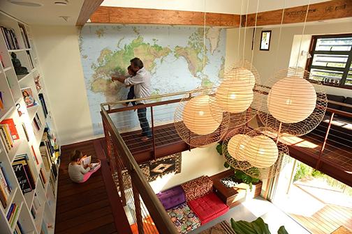 Mezzanine Library/Voyage Map