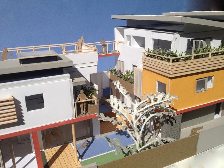 Second Unit Balcony