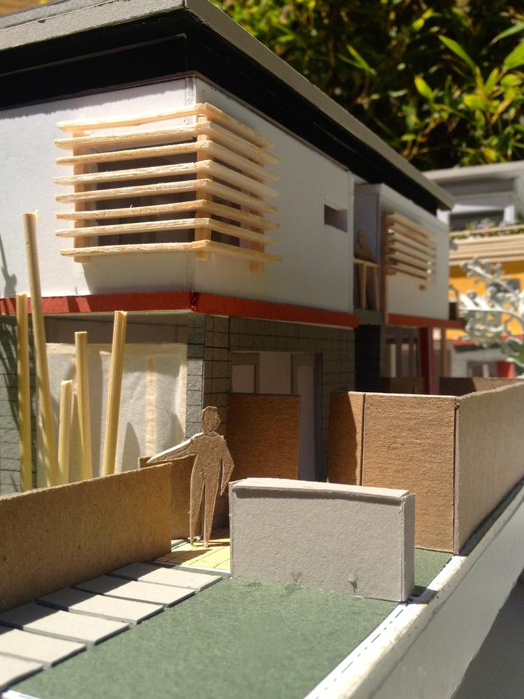Front Entry into Zen Garden