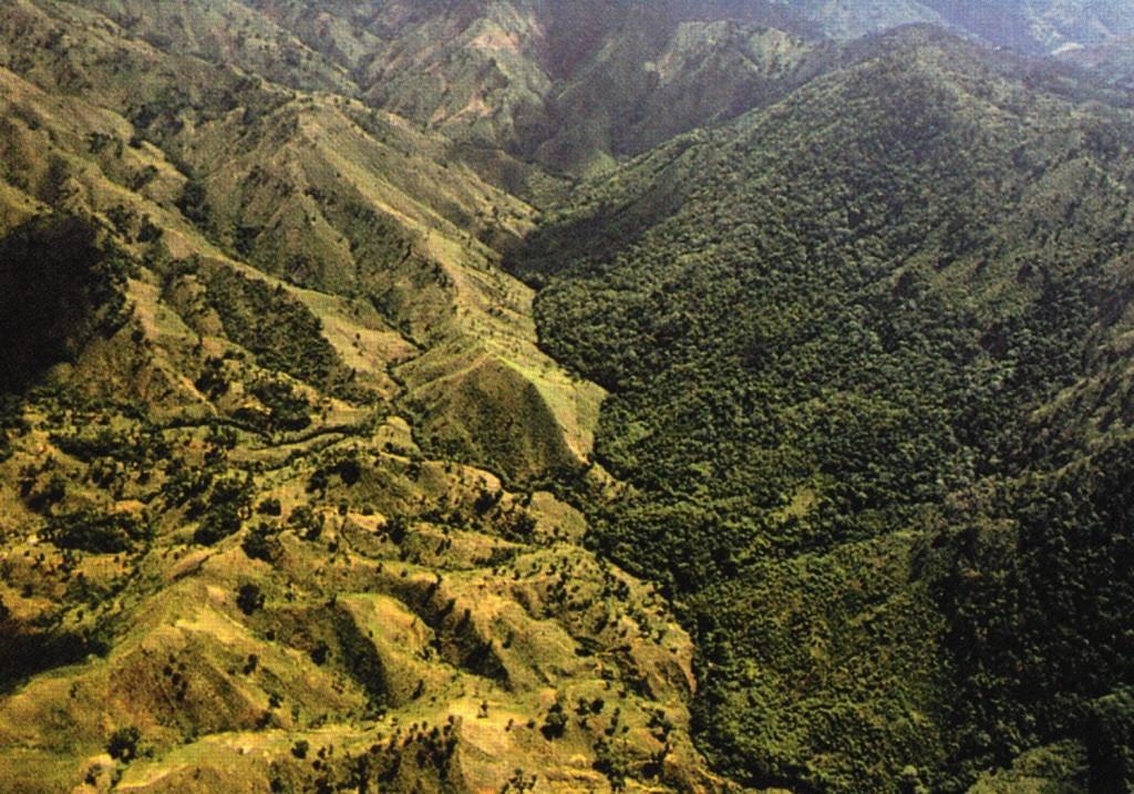 The Haiti & Dominican Republic border