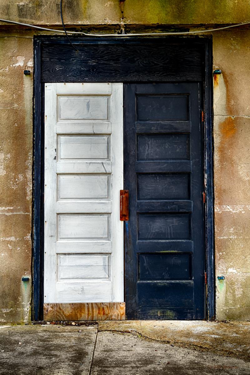 White Door Black Door