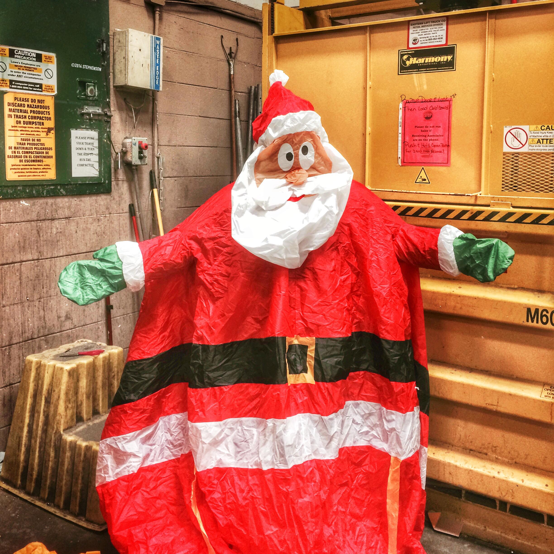 Saw Santa Today