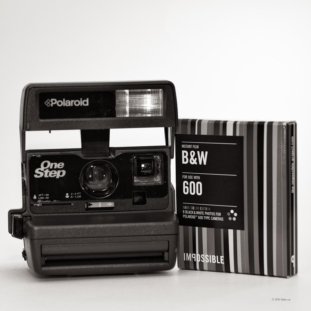 Polaroid Monochrome Project