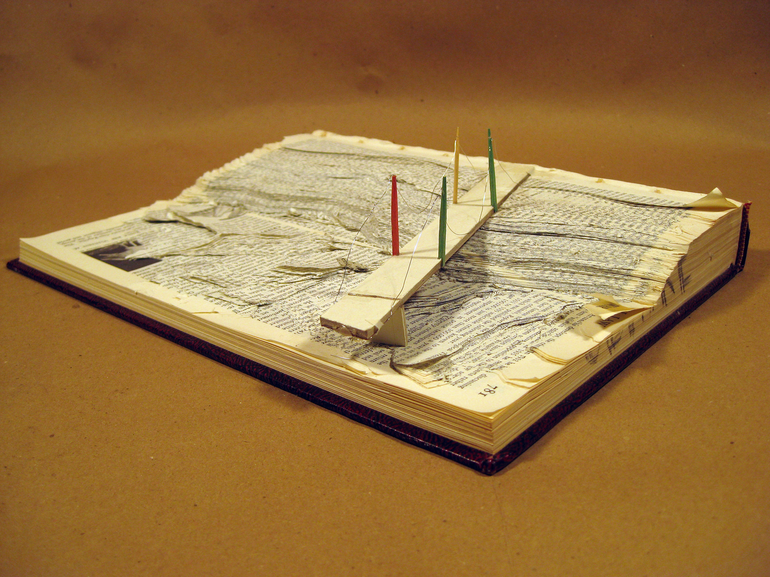 Sculptural Altered Book (2), BHS