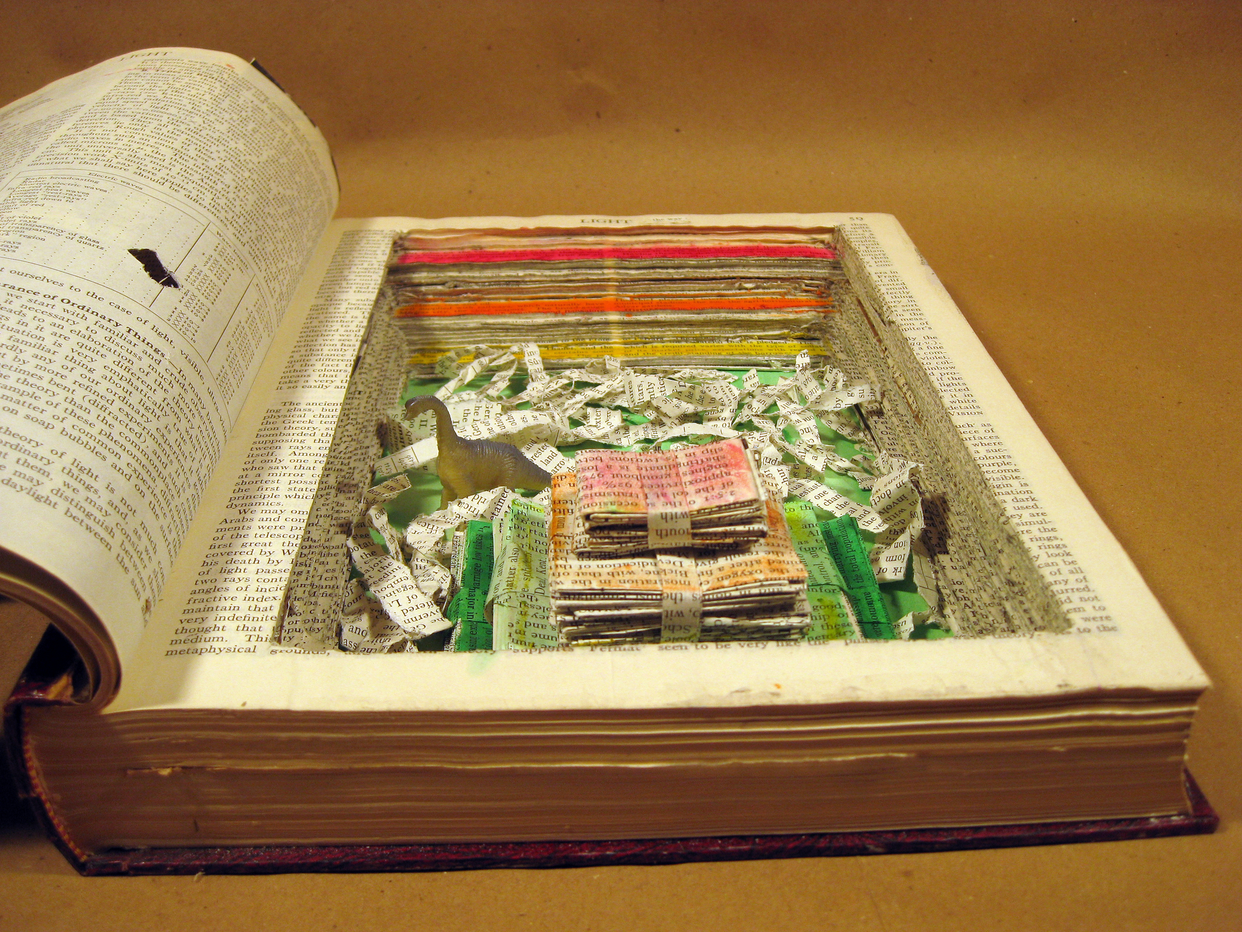Sculptural Altered Book (3), BHS