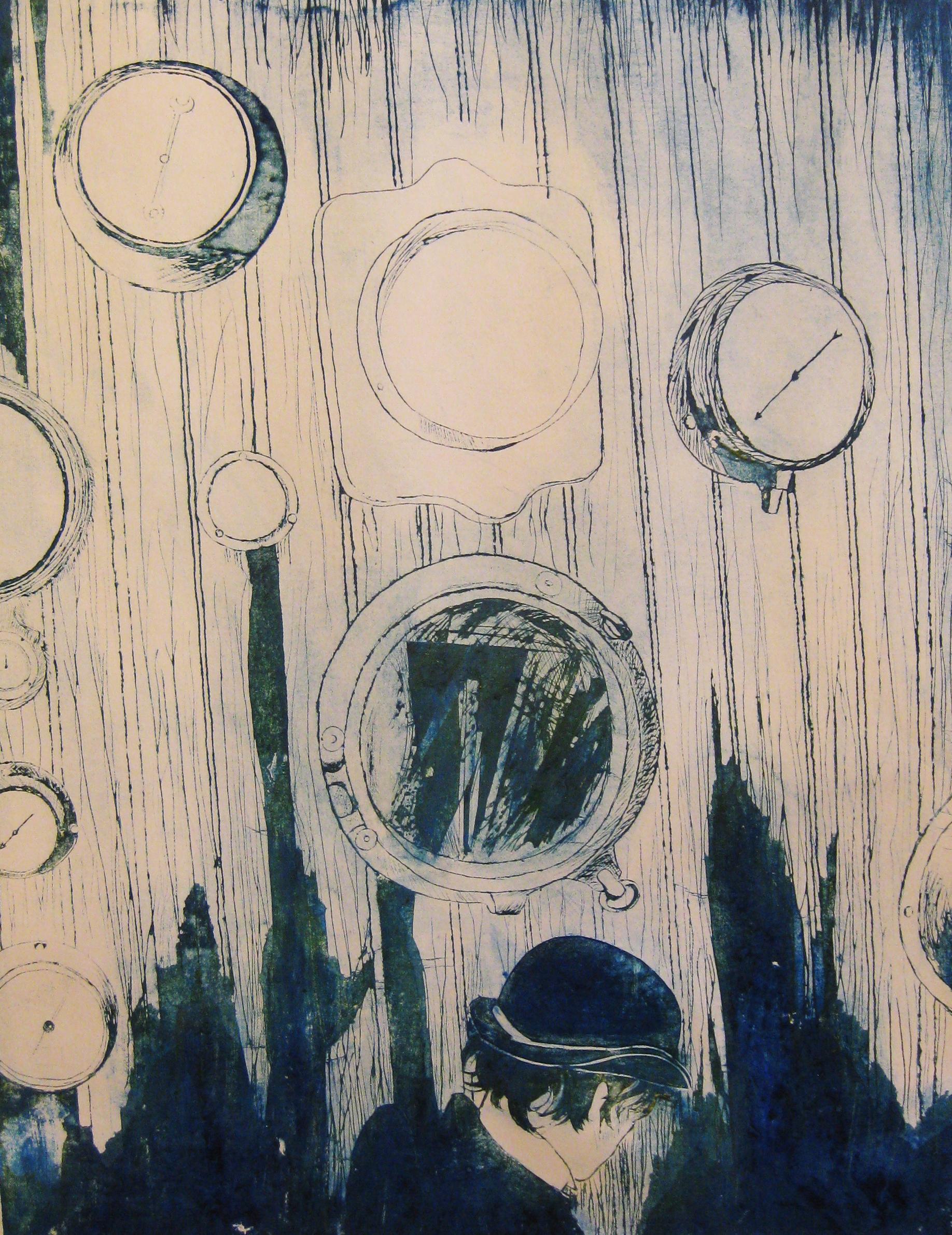 Paper Plate Intaglio, CCA Pre-College