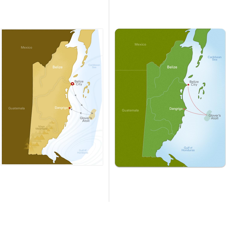 REI Catalog Maps