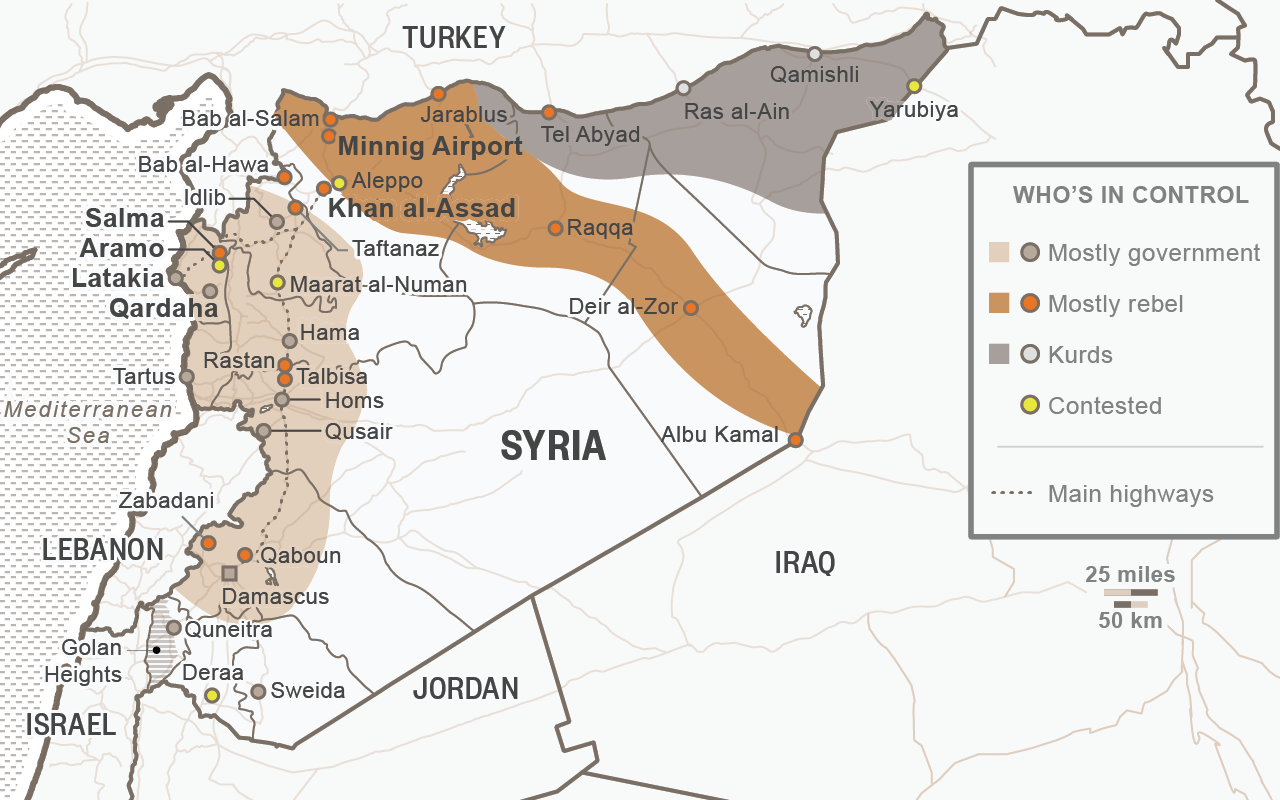 Reuters.com - Map of the Arab spring