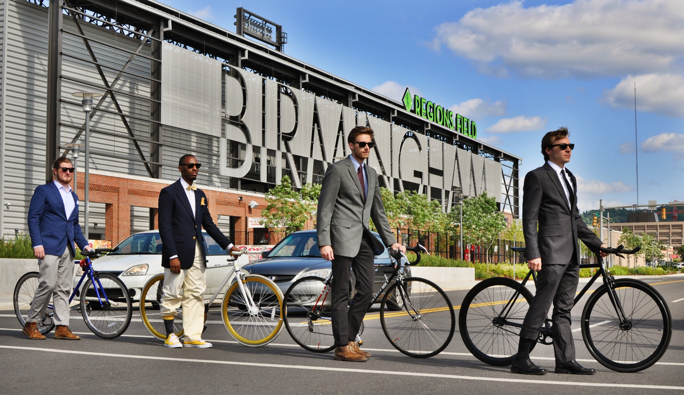 On May 16th, National Bike to Work Day was a success! We loved having our bikes match each of our riders in thier everyday clothes! Come and see what bike matches your professional attire.