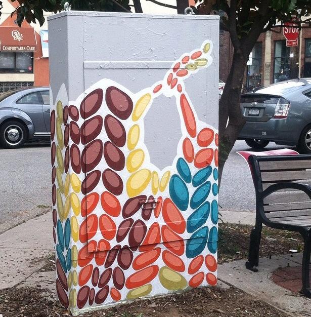 Box at 3rd & Bainbridge by Kelly Kozma