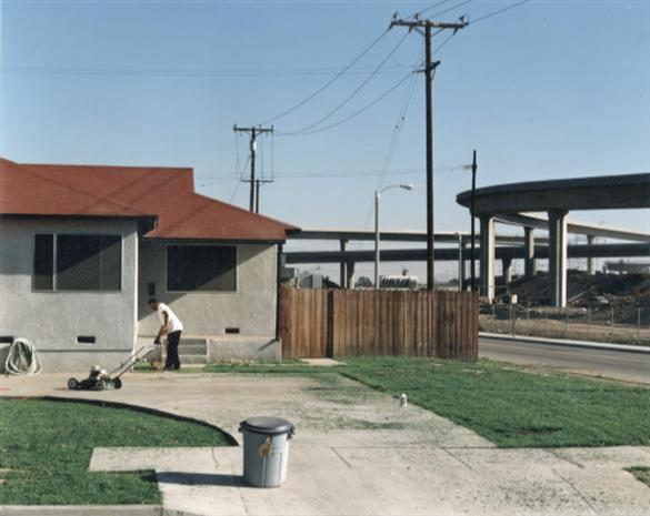 Lugo Park Avenue     at   Fernwood,   Lynwood, April 20, 1993-photo by  John Humble