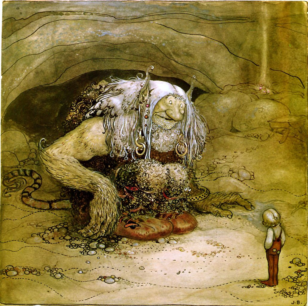 Facing a troll? Here are some tips. Photo in the  public domain .