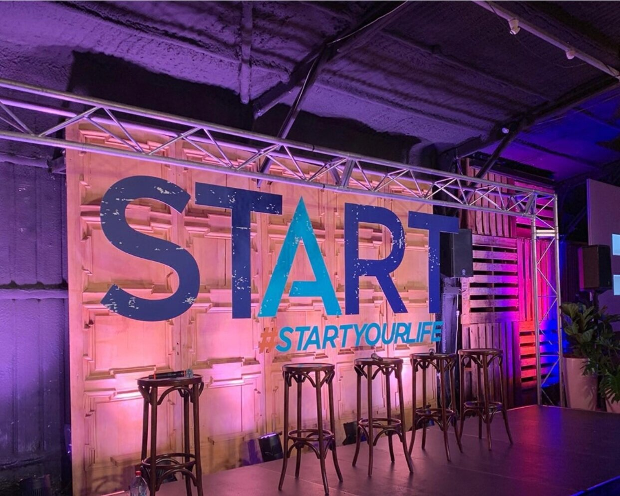 Start Your Life Corporate Event