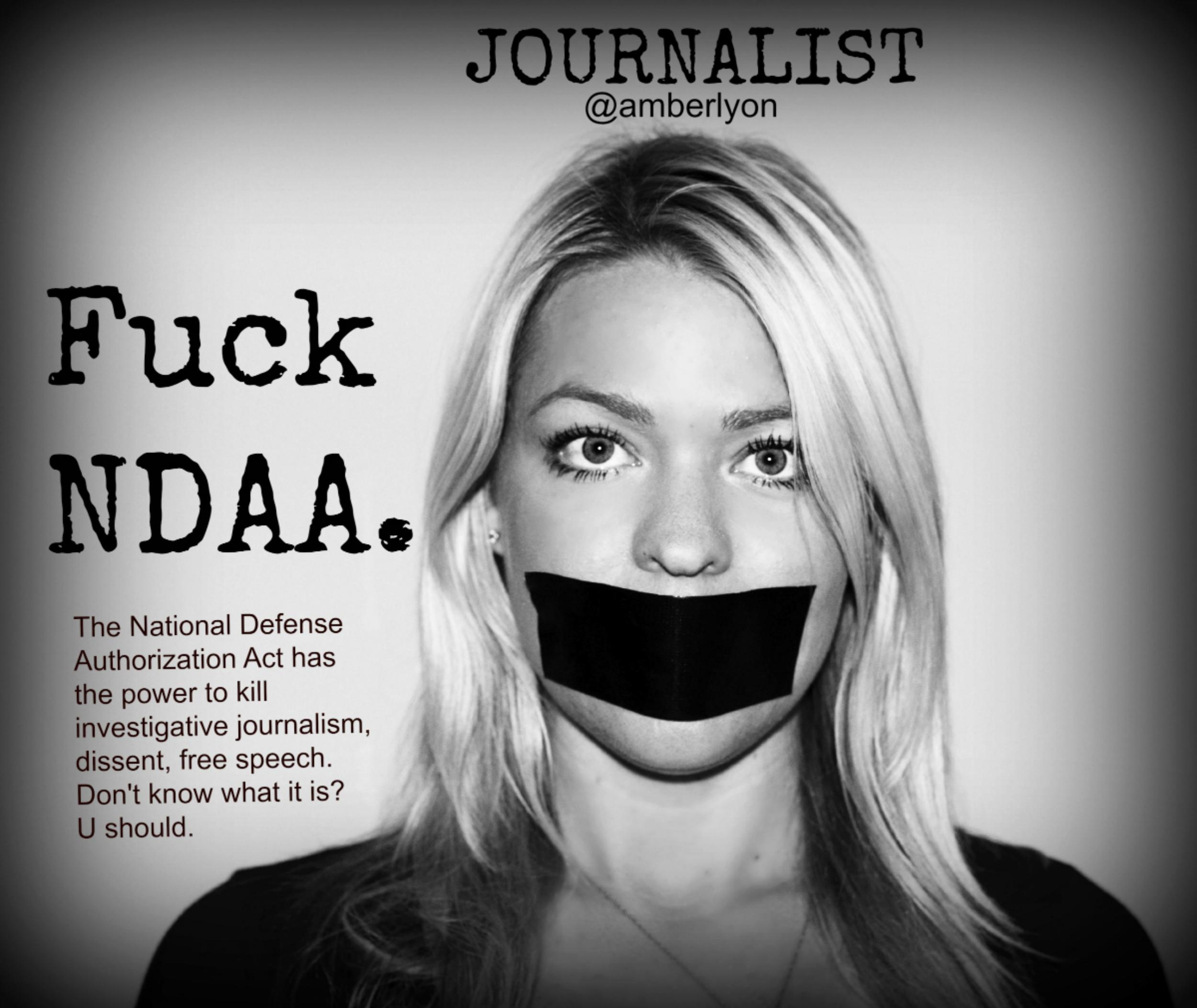 Fuck the NDAA