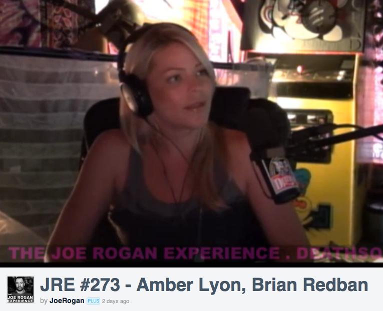 Amber on The Joe Rogan Experience