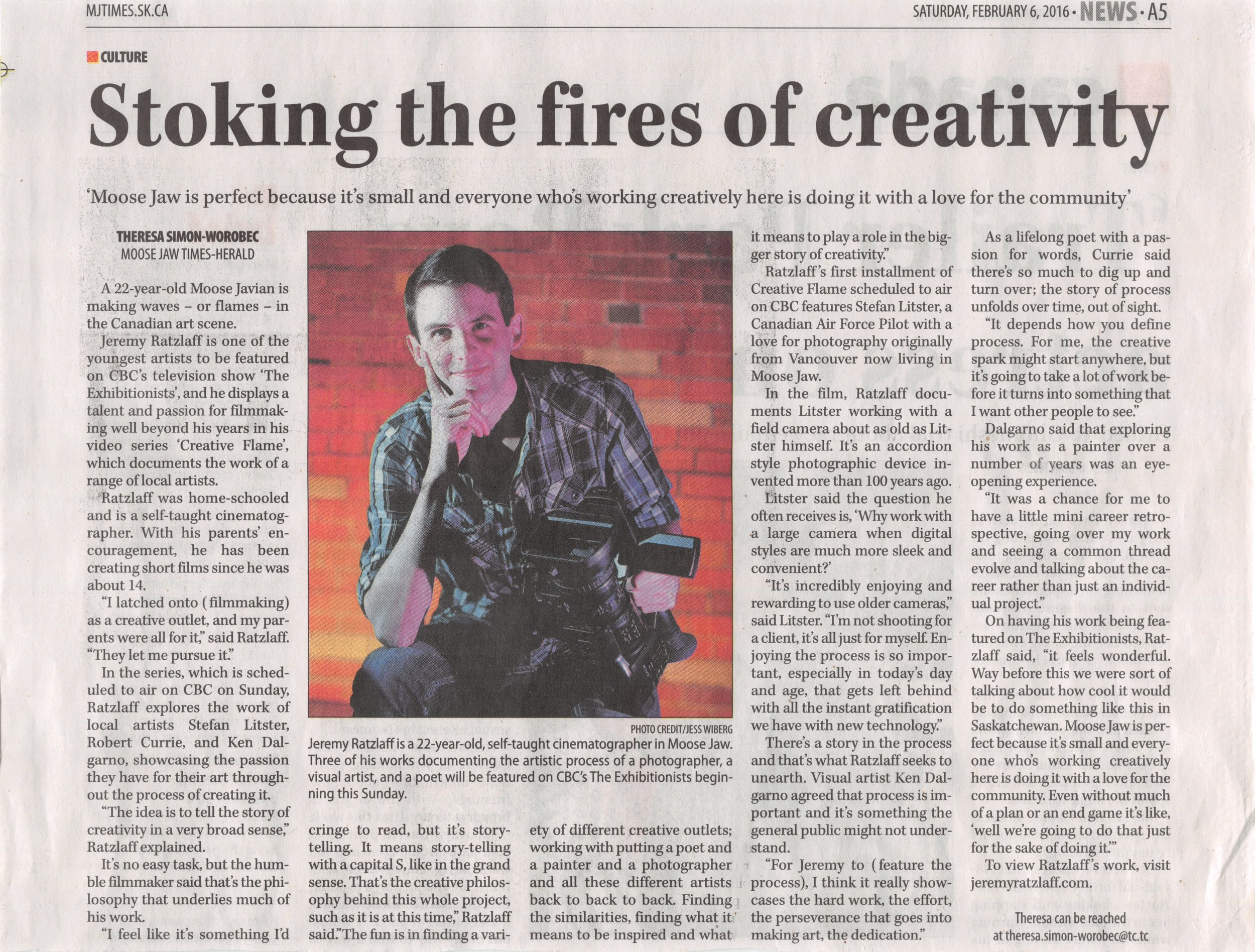 Stoking the fires of creativity
