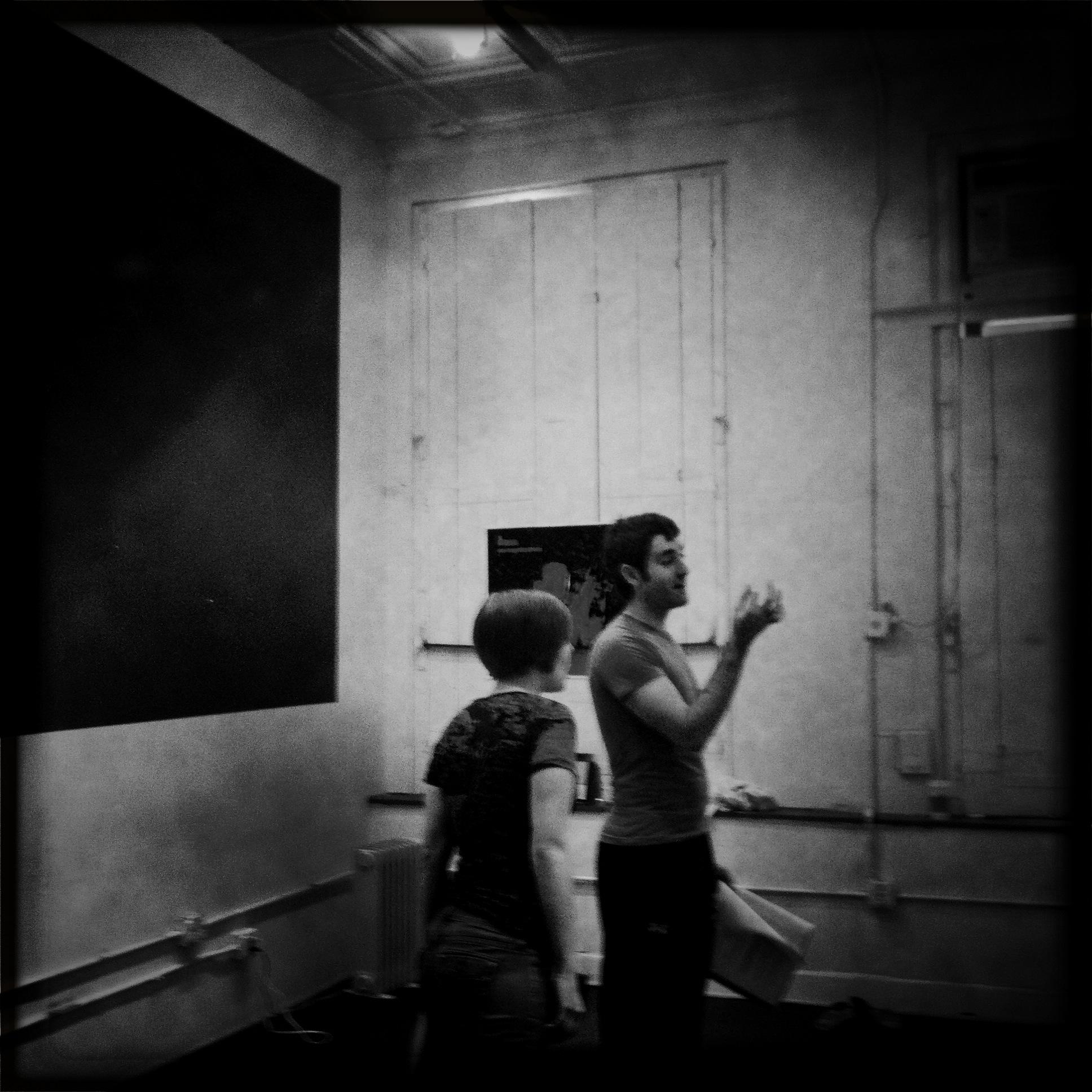 'Yippie!' rehearsal, 2011
