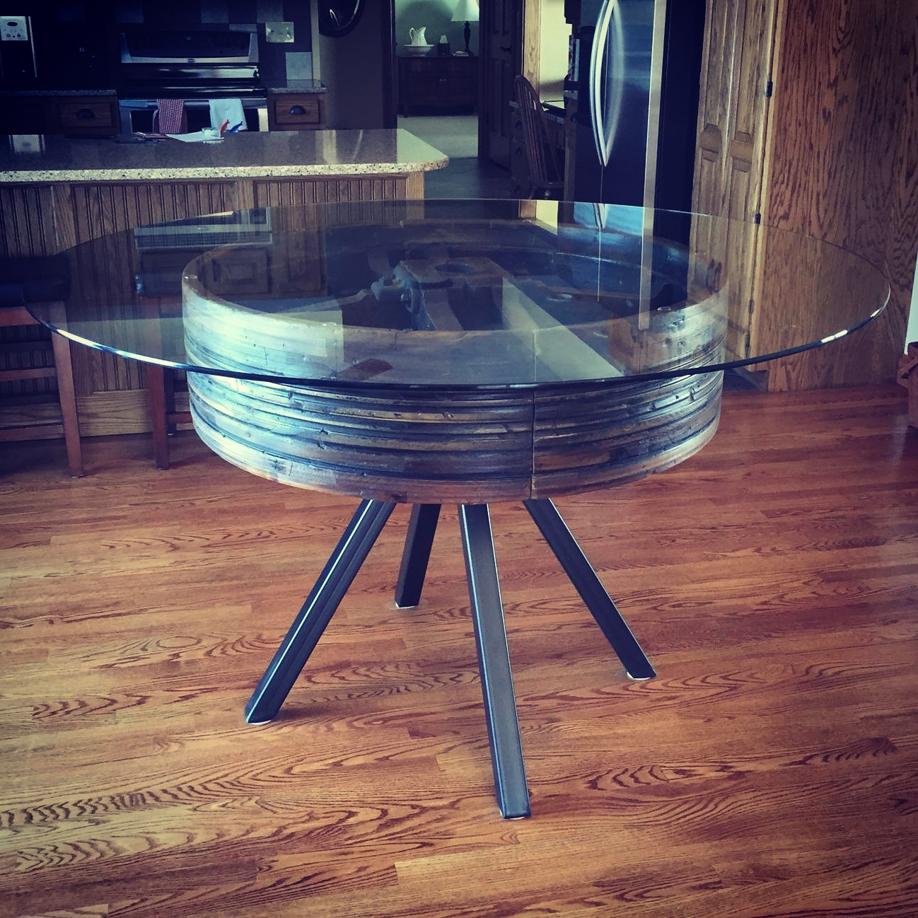 Pulley Table