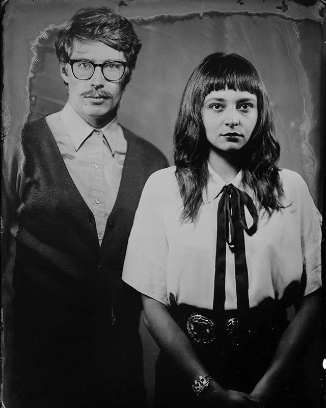 Harriet & Jack in their latest tintype