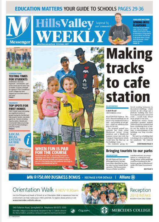 HillsValley Weekly _ 251017 _ Blackwood GC front cover.JPG