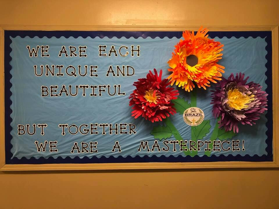 We are each unique and beautiful; but together we are a masterpiece!
