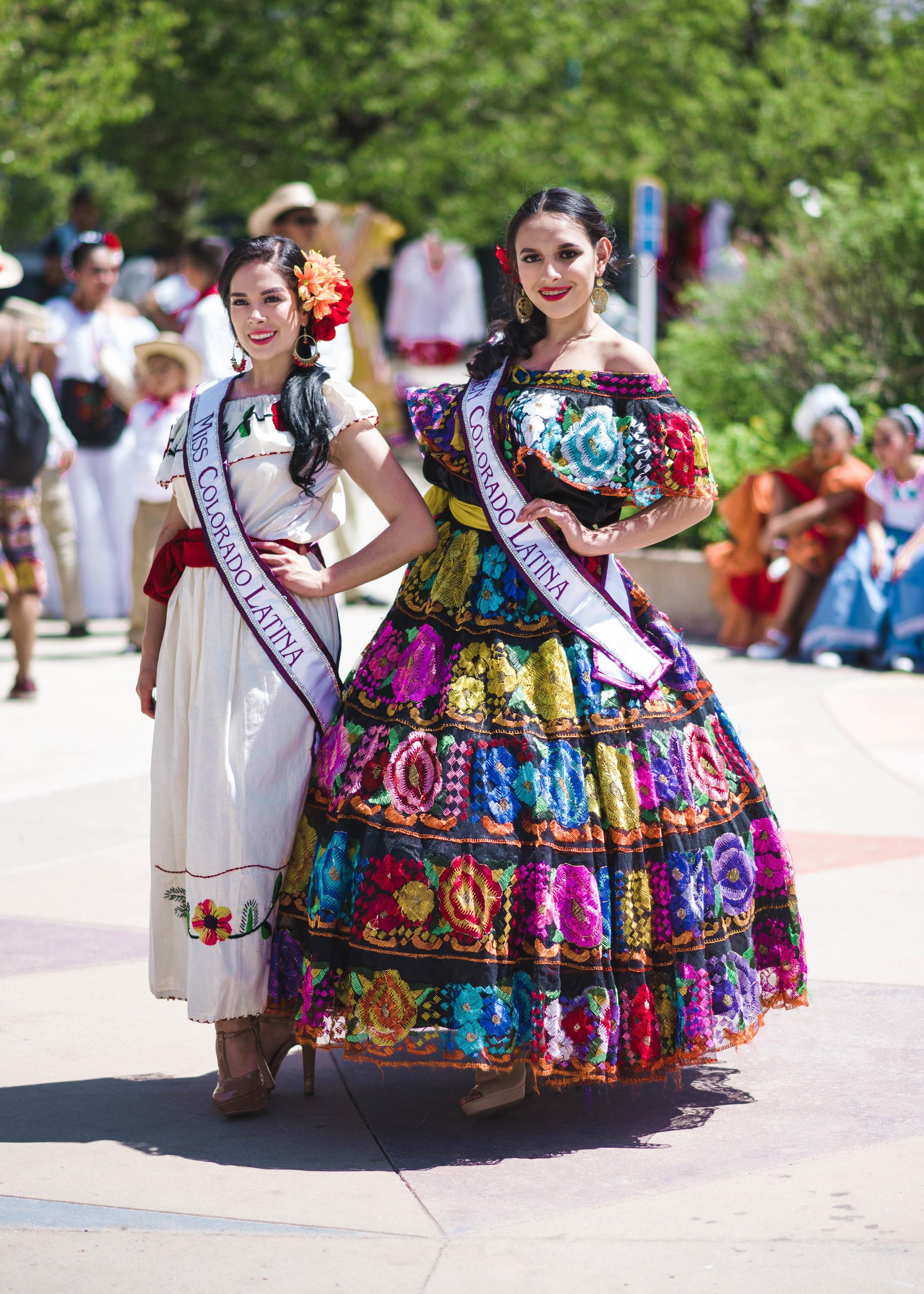 Miss. Colorado Latina and Miss Teen Colorado Latina