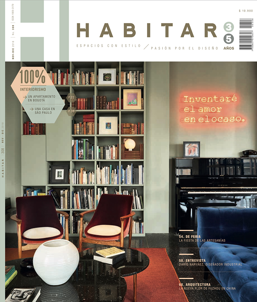 Revista Habitar - Words and Photography of the november cover.