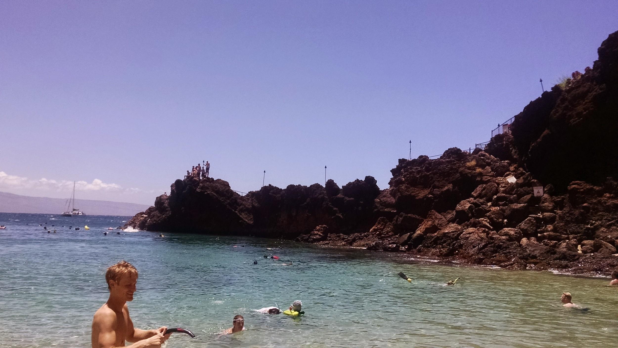 Black Rocks, Kaanapali Beach, Hawaii - Maui Beach