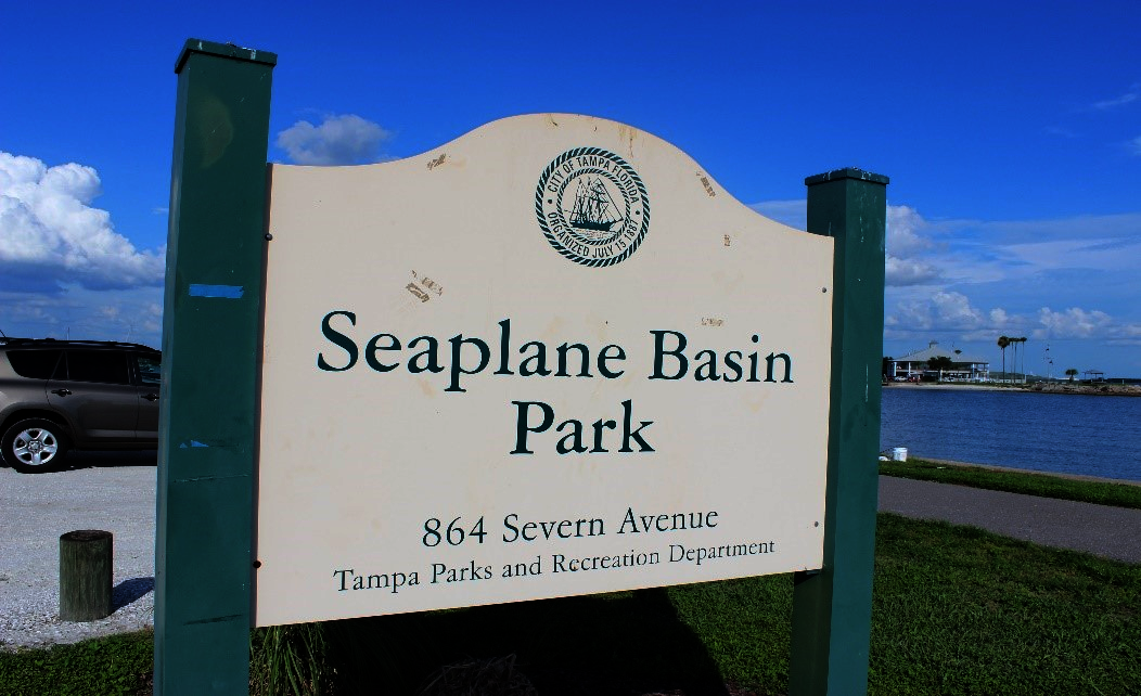 Seaplane Basin Park on Davis Islands