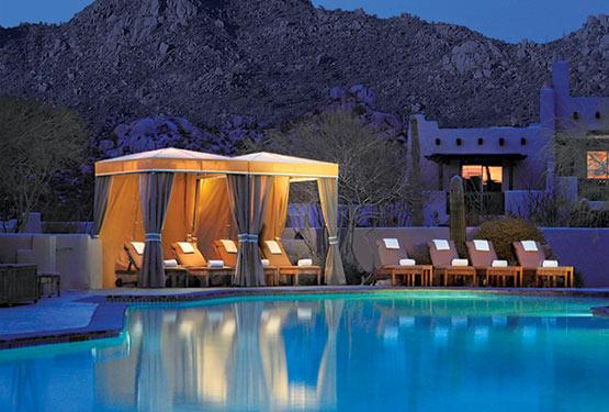 Four Seasons Troon North pool in Scottsdale
