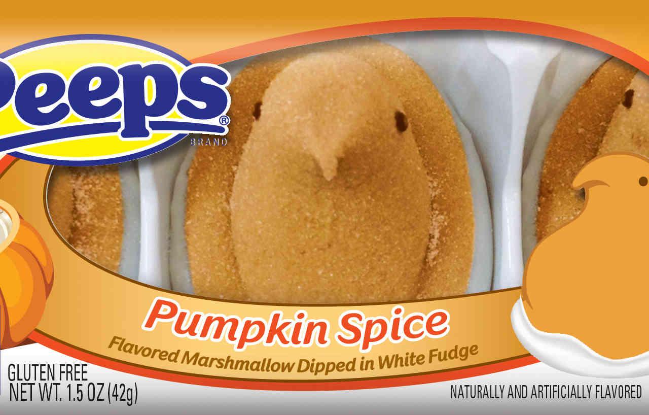 Pumpkin Spice Peeps