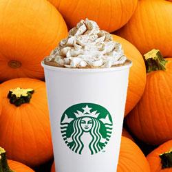 Pumpkin Spice Coffee from Starbucks