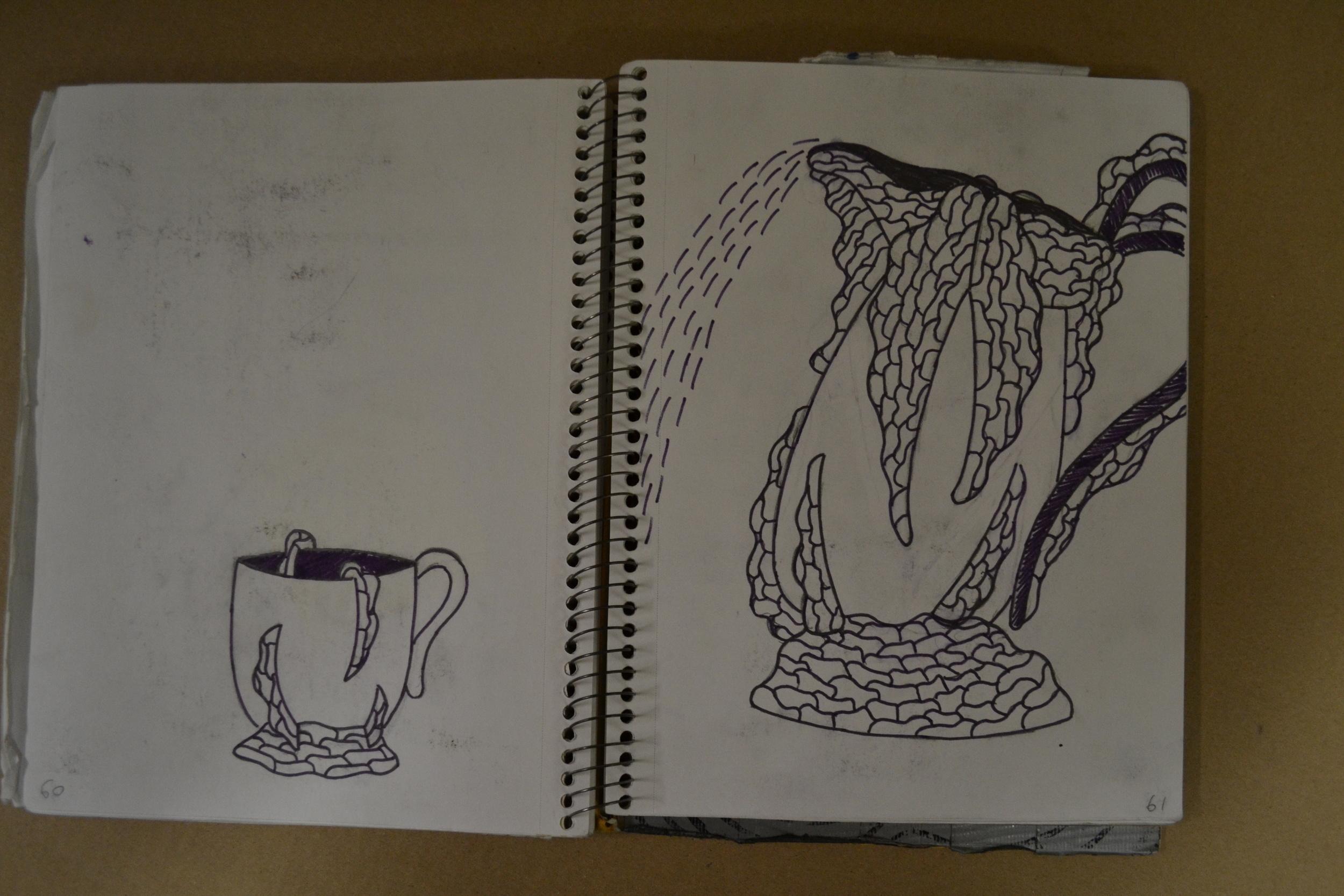 """Dragon's Tea Set"""