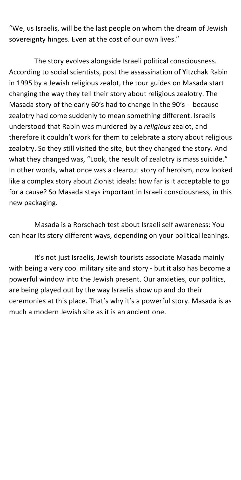 Masada Script, Page 2